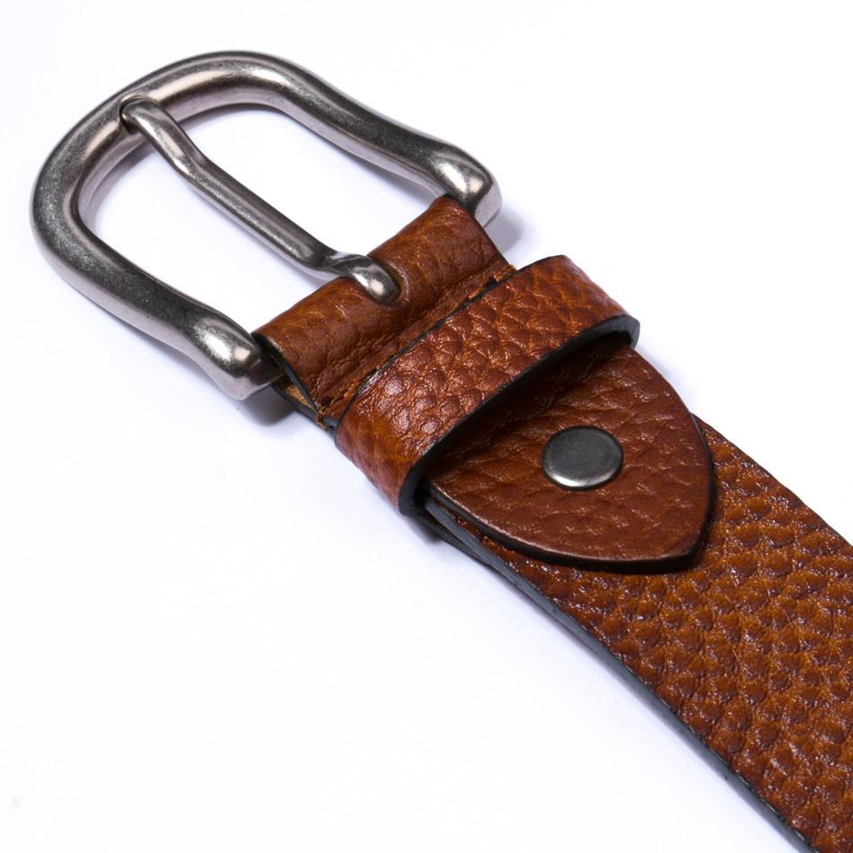 Cinturón Leather Cognac