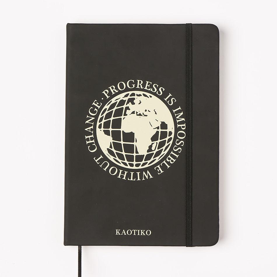 Notebook Kaotiko World Black