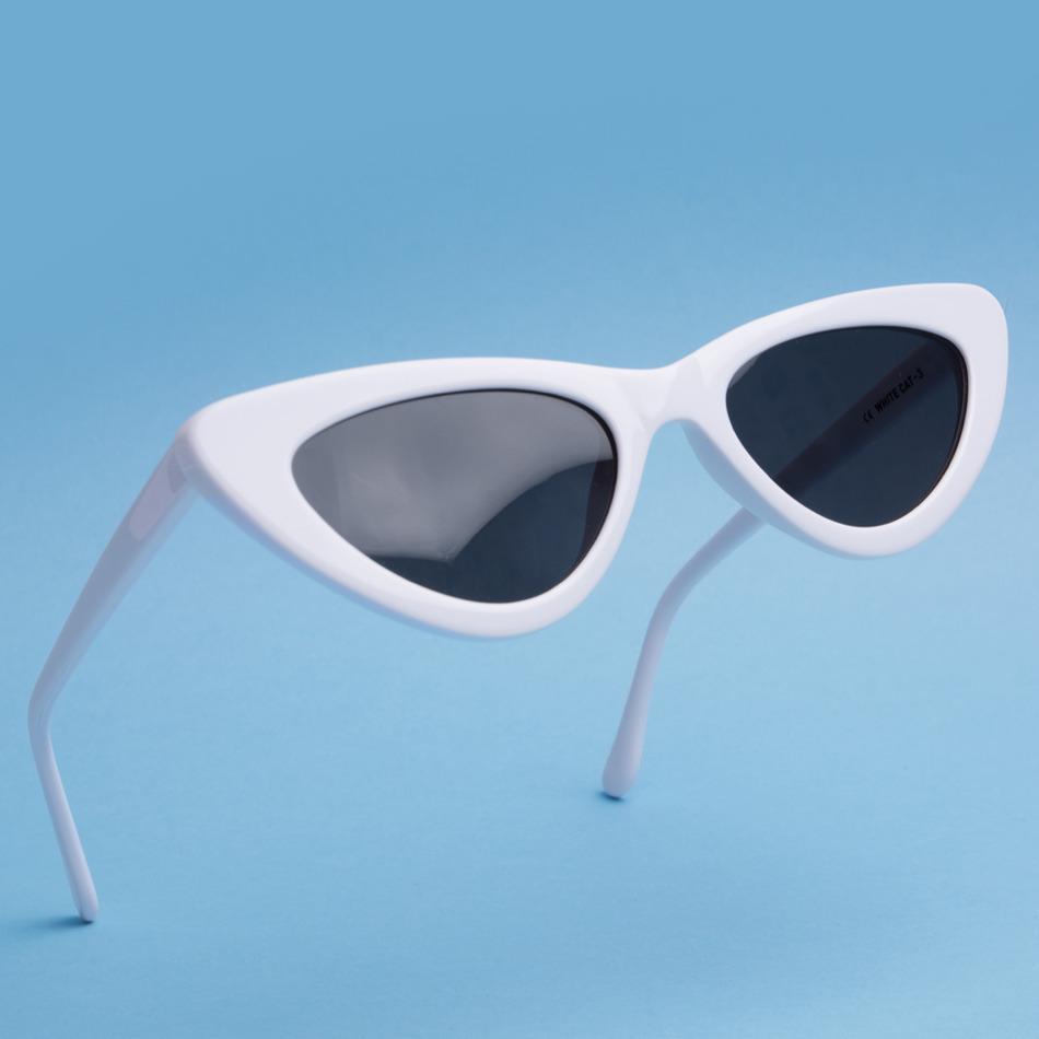 lolita white sunglasses