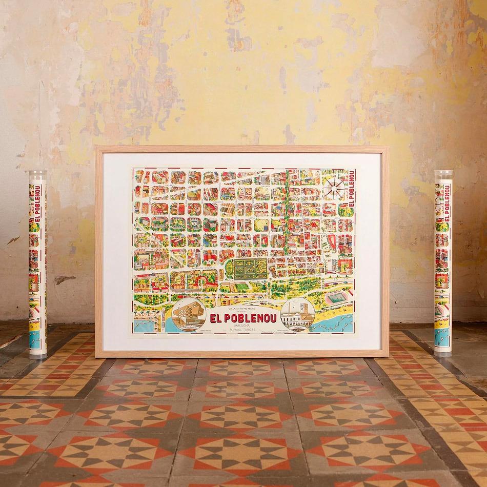 Mapa Barcelona-Poblenou
