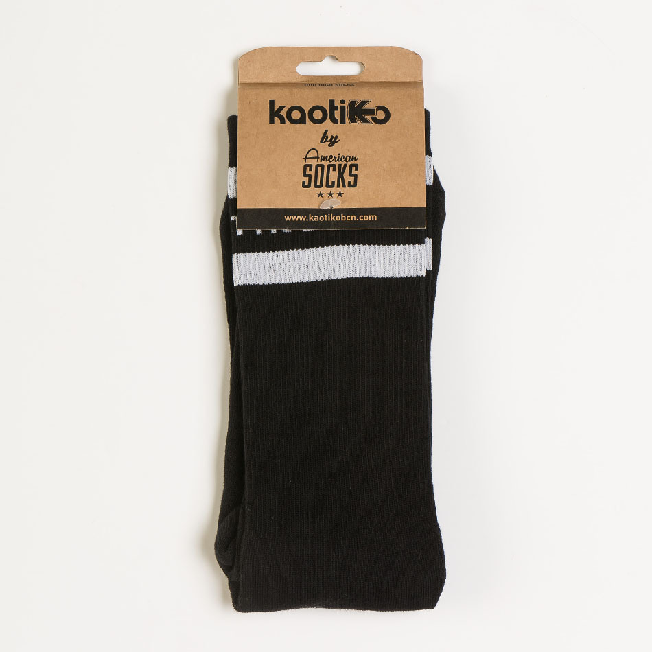 Calcetines Kaotiko Colors Negro/Blanco