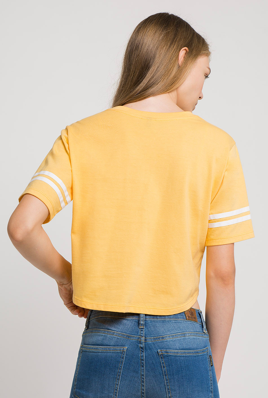 Camiseta Irish amarilla