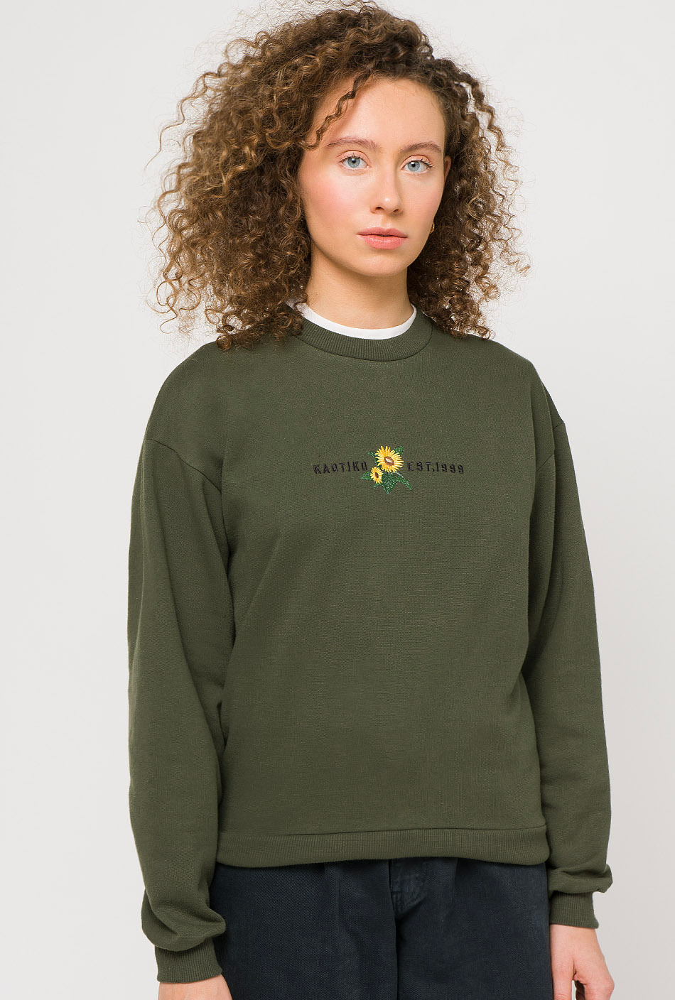 Sunflower Green Sweatshirt