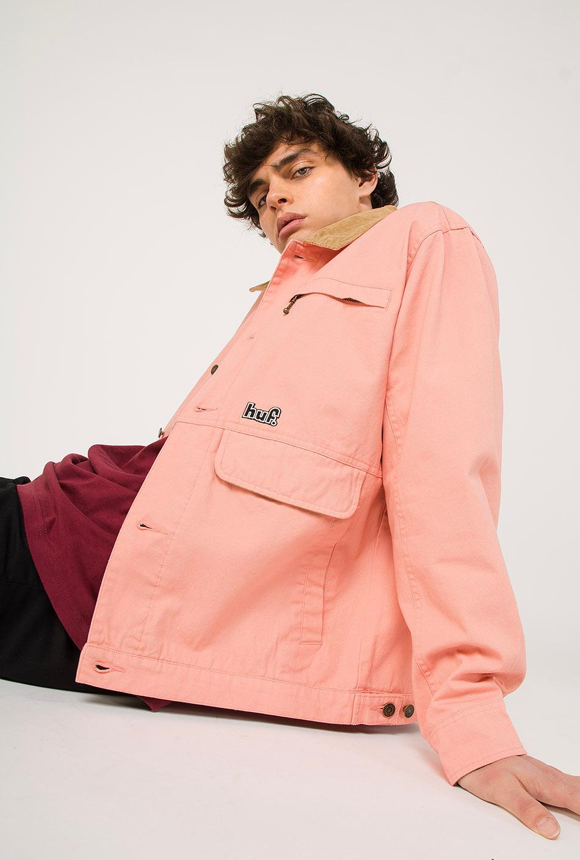 Huf Remington Jacket Coral Pink