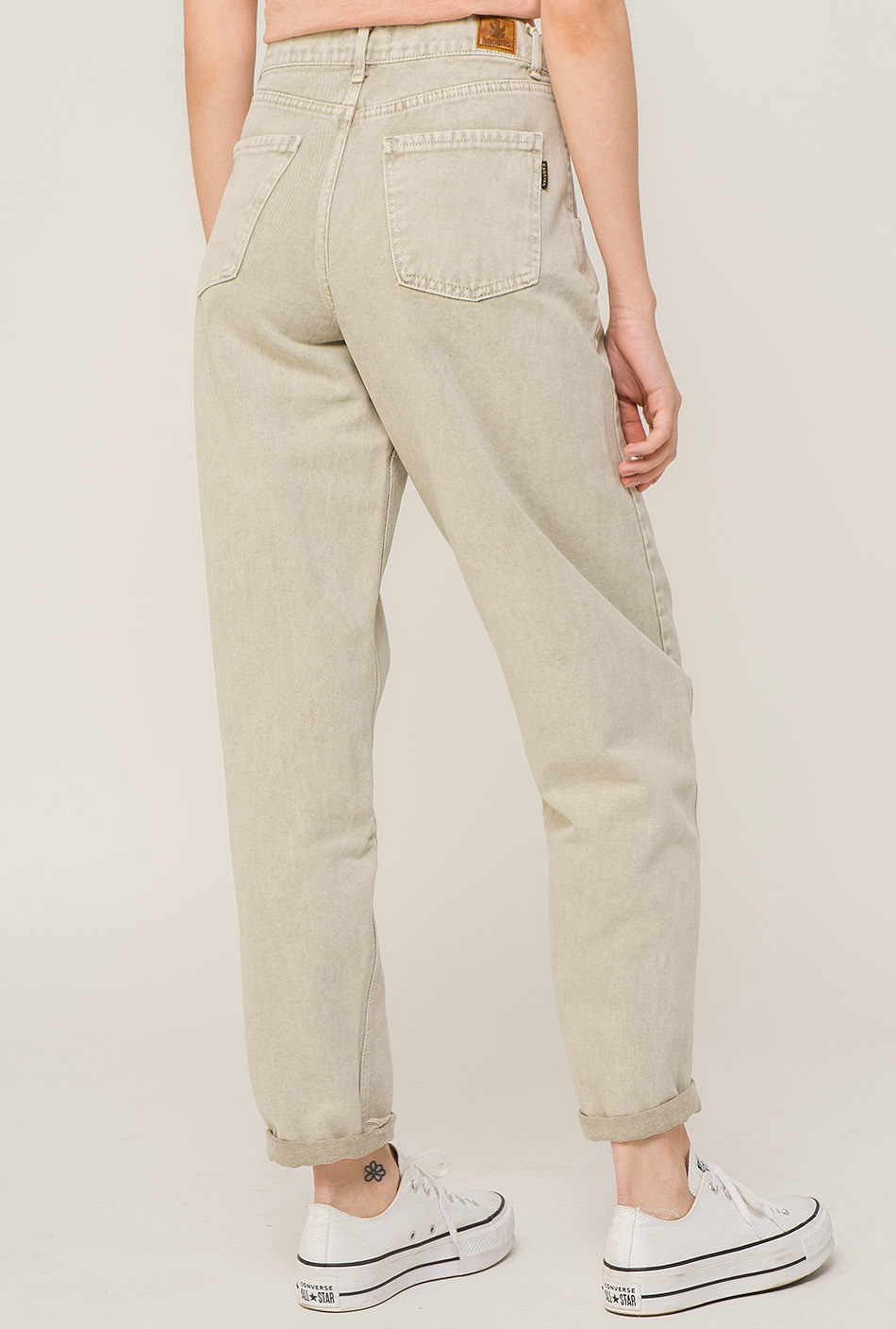 Globo Off White trousers