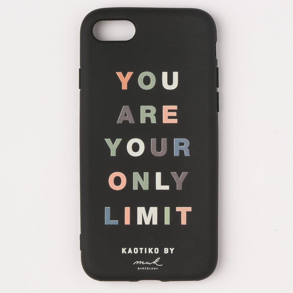 Only Limits Black iPhone Case