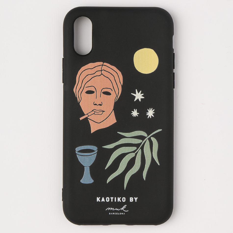 Femme Black iPhone Case