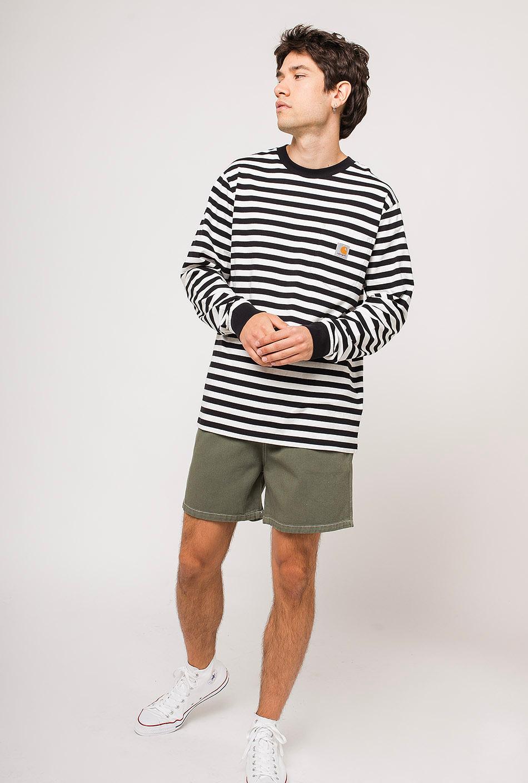 Carhartt Scotty Pocket T-Shirt Black/White