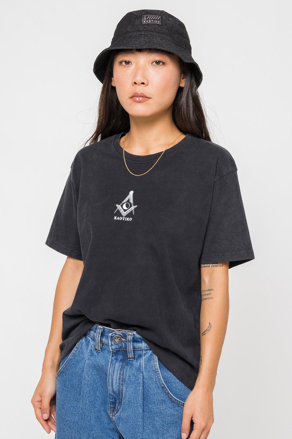 Camiseta Tie Dye Masón Black