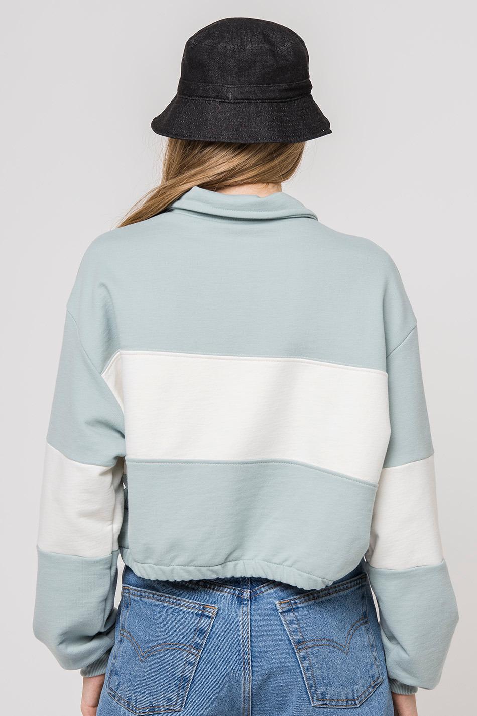 Gaynor Ivory/Cloud Sweatshirt